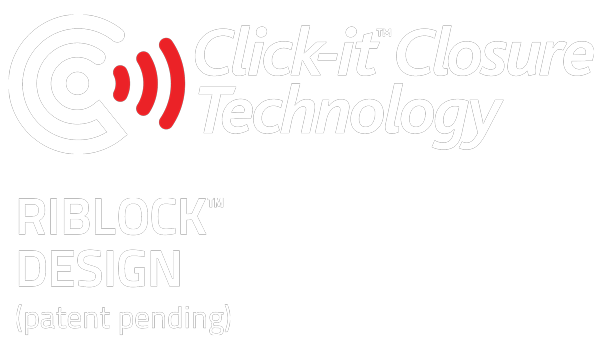 Patented Click-it Closure Technology